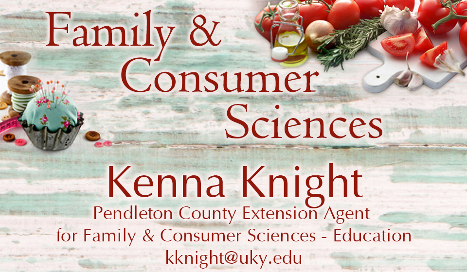 Family & Consumer Sciences Agent Kenna Knight
